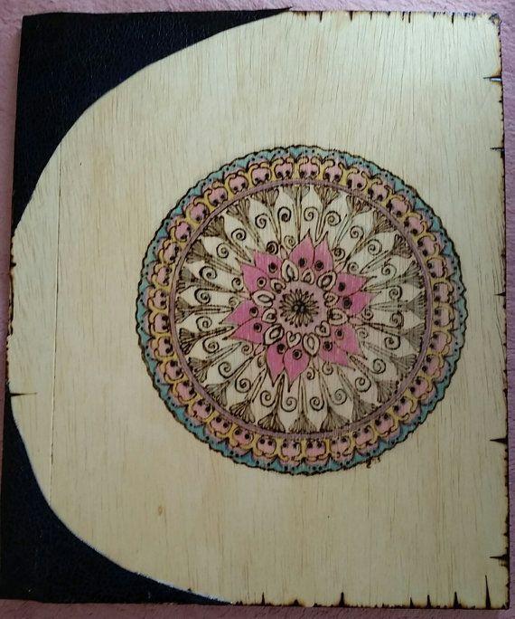 SALE 25.00 dollars Love Mandala Book B.O.S or Journal by Gaeamoon