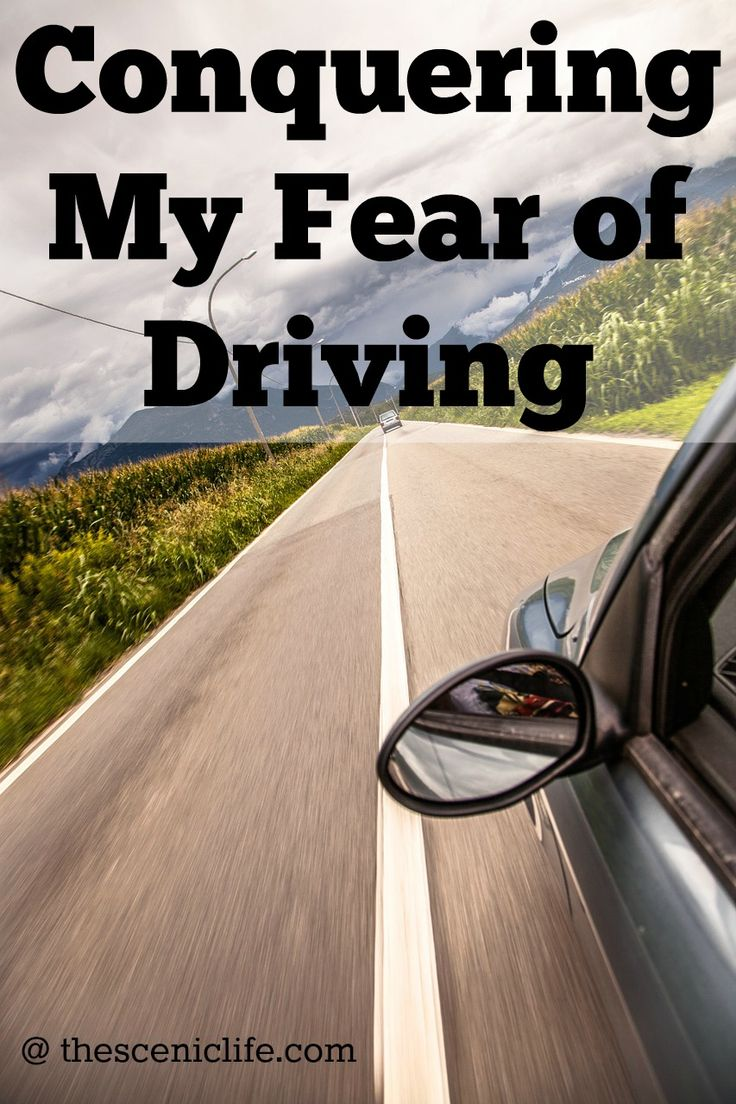 Conquering My Fear of Driving @ thesceniclife.com