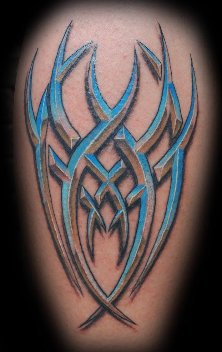 Image result for tribal dolphin tattoo shaded blue