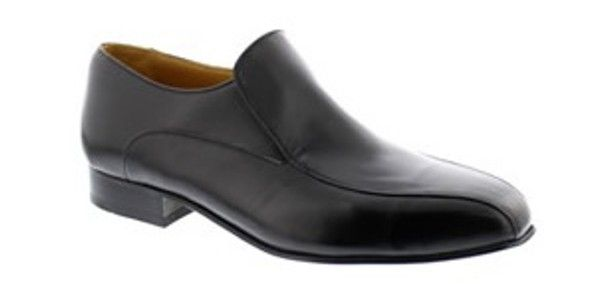 Arch Shoe - The Arch is a Slip on style shoe with concealed elastic gusset under tongue made from full grain leather available in black, brown and light brown colours and a range of sizes from 5 – 12.