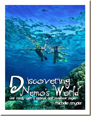 Discovering Nemo's World Unit Study and Printables  printables  links
