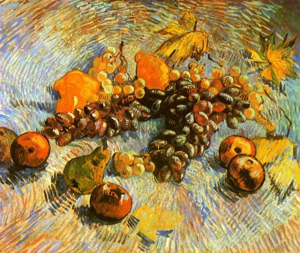 Vincent Van Gogh, Still-life with Fruit, 1887, Art Institute of Chicago