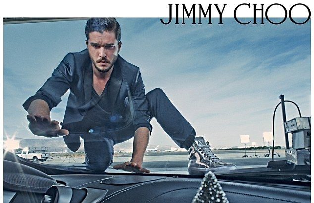 Game Of Thrones star Kit Harington, who plays Jon Snow, has been snapped up as the face of Jimmy Choo