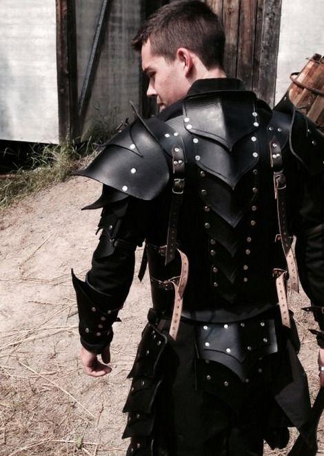 Armor black steel custom made
