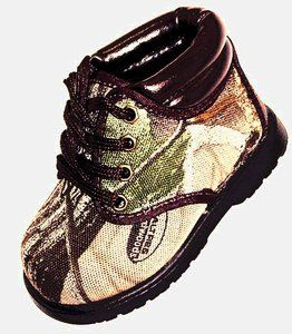 Realtree Baby Items | Camo Realtree Boots Infant Toddler | eBay...sooo cute!