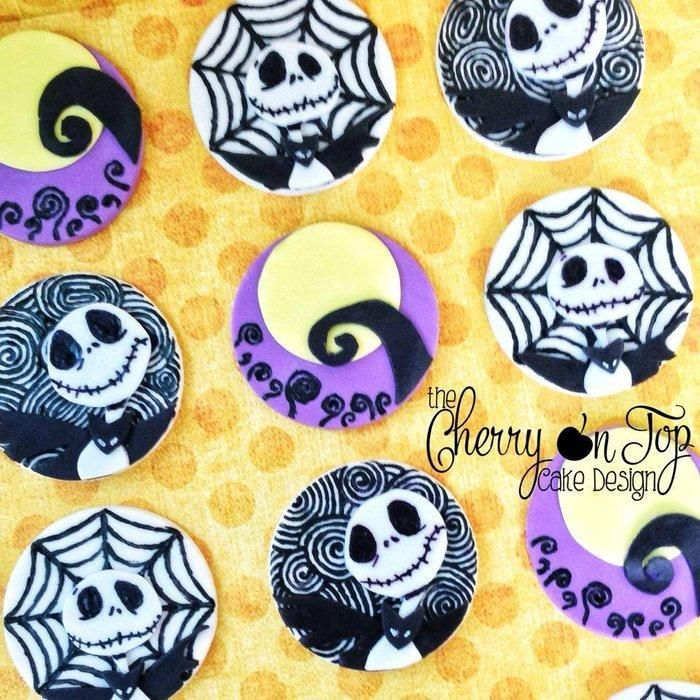 Nightmare Before Christmas Cupcakes | Bday ideas | Pinterest