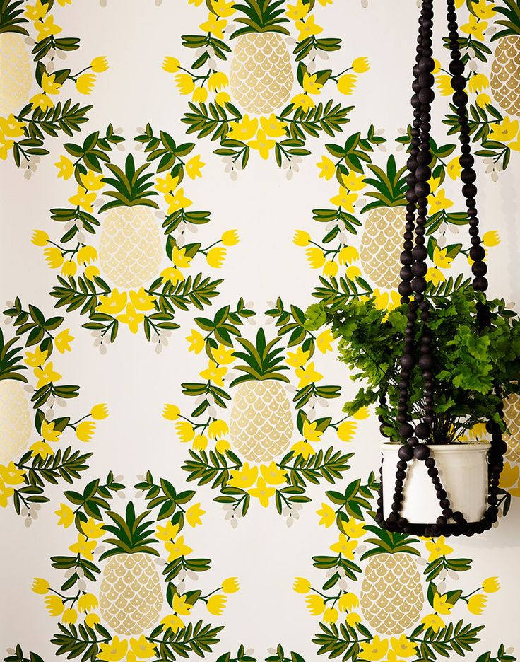 Our luxe, modern wallpapers are screen printed by hand Details - Roll: 27 in x 30 ft - Sample: 8.5 in x 11 in - Vertical Repeat: 18 in - Match: straight across - Finish: pre-trimmed - Material: clay c
