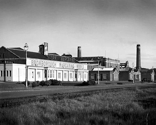 Stork Margarine Works, Bromborough.