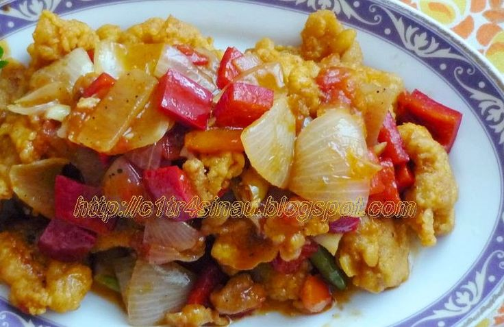 Citra's Home Diary: Ayam asam manis (Sweet and sour Chicken)
