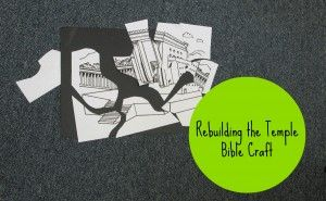 This page has some great links for other resources for teaching about King Josiah, including a 12 page PDF lesson suitable for preschool and adaptable for early elementary. Rebuilding the Temple Bible Craft
