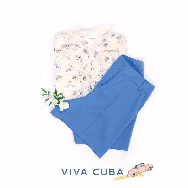 cool  2017 SUMMER COLLECTION #CUBA #LIVELY #VIVID #itMICHAA 쿠바의 상징, 형형색색의 '올드카' 프린트와 프...