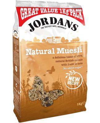 [Default Food] Natural Muesli, Jordans. - Non-GMO, 성분 깔끔