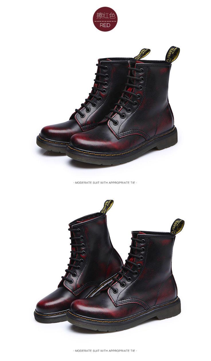 2017 качество Dr Пояса из натуральной кожи мужская обувь Сапоги и ботинки для девочек высокие мотоботы Martin осень зима обувь любителя снега Сапоги и ботинки для девочек Бесплатная доставка купить на AliExpress