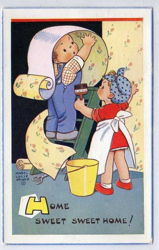 (Lc1318-176) Mabel Lucie Atwell, Home Sweet Sweet Home! 1963 Used VG+ | eBay................... lb xxx.