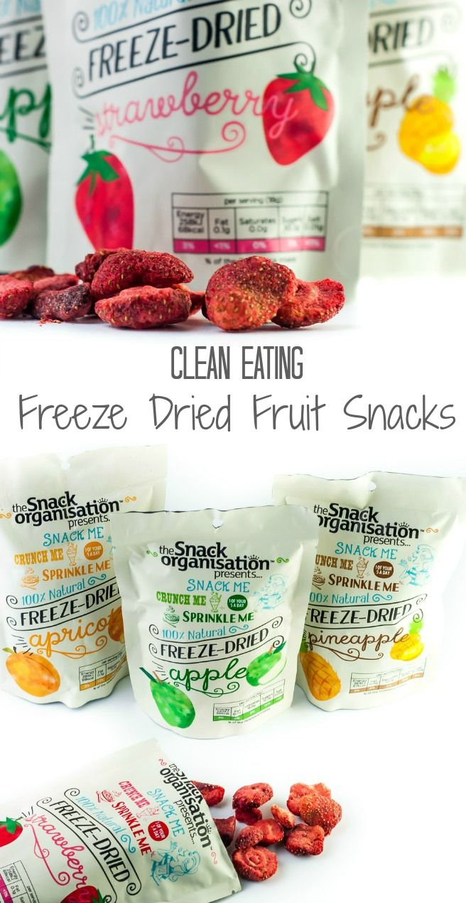 Clean eating is all about eating whole, real foods which are as close to their natural form as possible. Freeze drying offers just that…