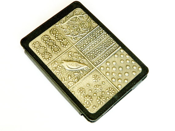 Kindle Case Cover Whimsey Pewter Repousse by Loutul on Etsy, £29.00