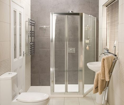 Collage Trapezium Shower Enclosure     The Collage Trapezium Is A Totally  Flexible Space Saving