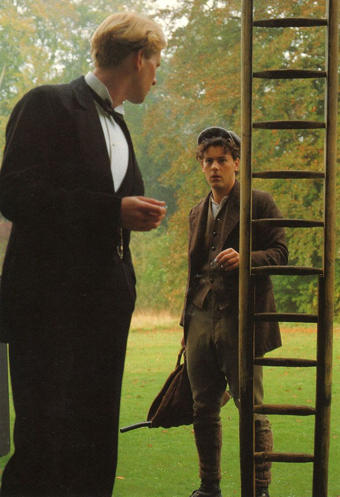 James Wilby and Rupert Graves in Maurice
