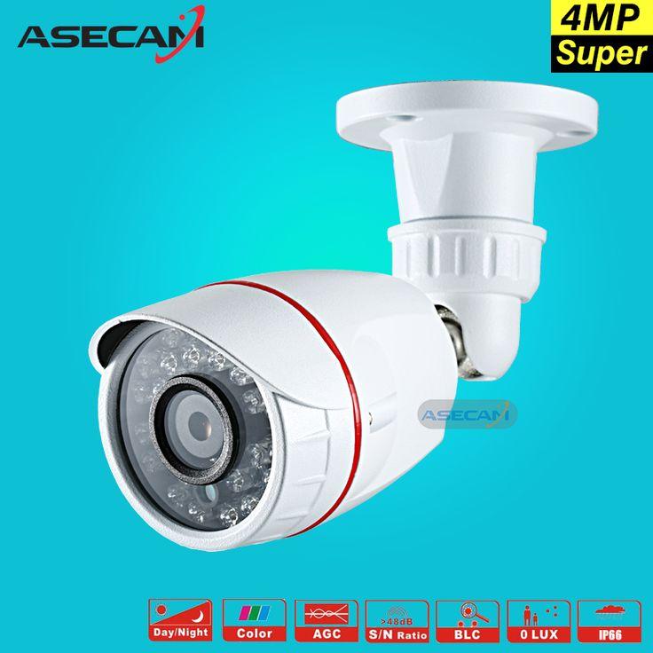 New Super 4MP OV4689 Small AHD Security Camera Outdoor Vandal-proof Mini 24led infrared Metal Bullet Video Surveillance Camera