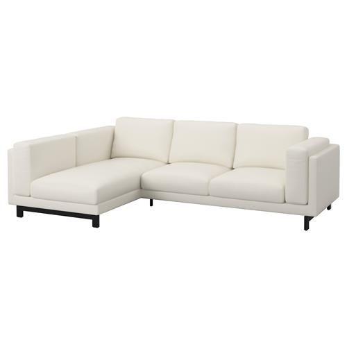 NOCKEBY διθέσιος καναπές με αριστερή σεζλόνγκ - IKEA