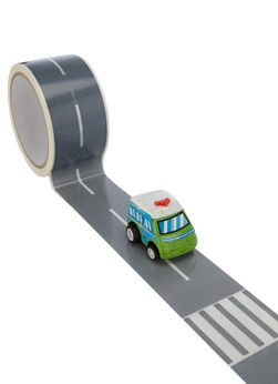 Donkey Products Decoratieve tape My First Autobahn