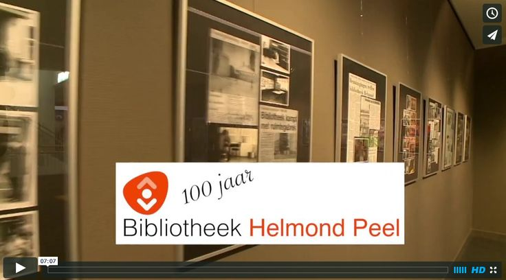100 years of Library Helmond. Gorilla CAF and developed concept and brought this anniversary in online video.