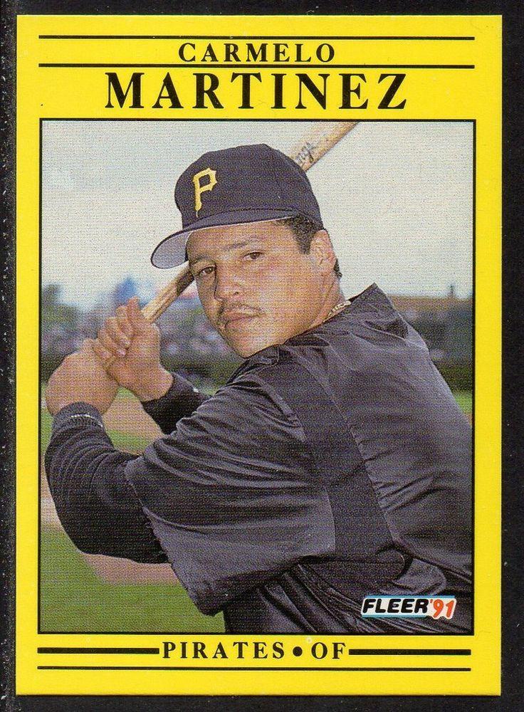 #44 Carmelo Martinez (1991) - Fleer Baseball card. New on http://colnect.com/sports_cards