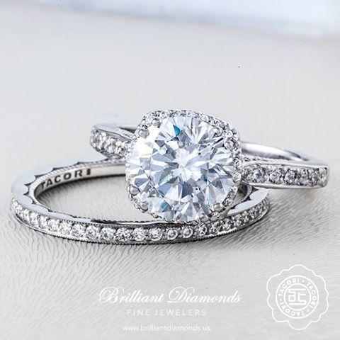 148 best Tacori Bridal images on Pinterest Brilliant diamond