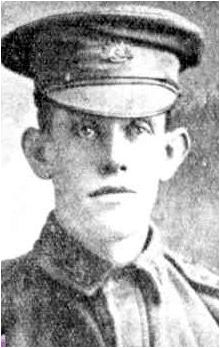 3296 Private George Whitmore, 1st Australian Pioneer Battalion. Born: St. Kilda, Victoria. Died: KIA 25 April 1916 and buried Rue Petillon Military Cemetery, France.