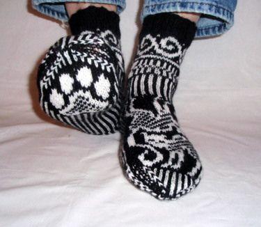 Cat Socks by Jorid Linvik