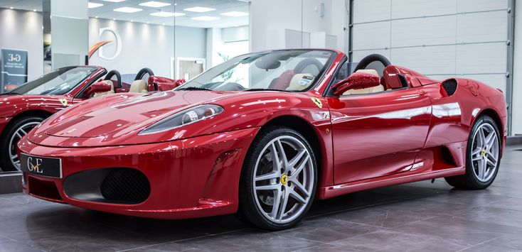 Ferrari F430 Spider F1 2007 - GVE Luxury Vehicles London