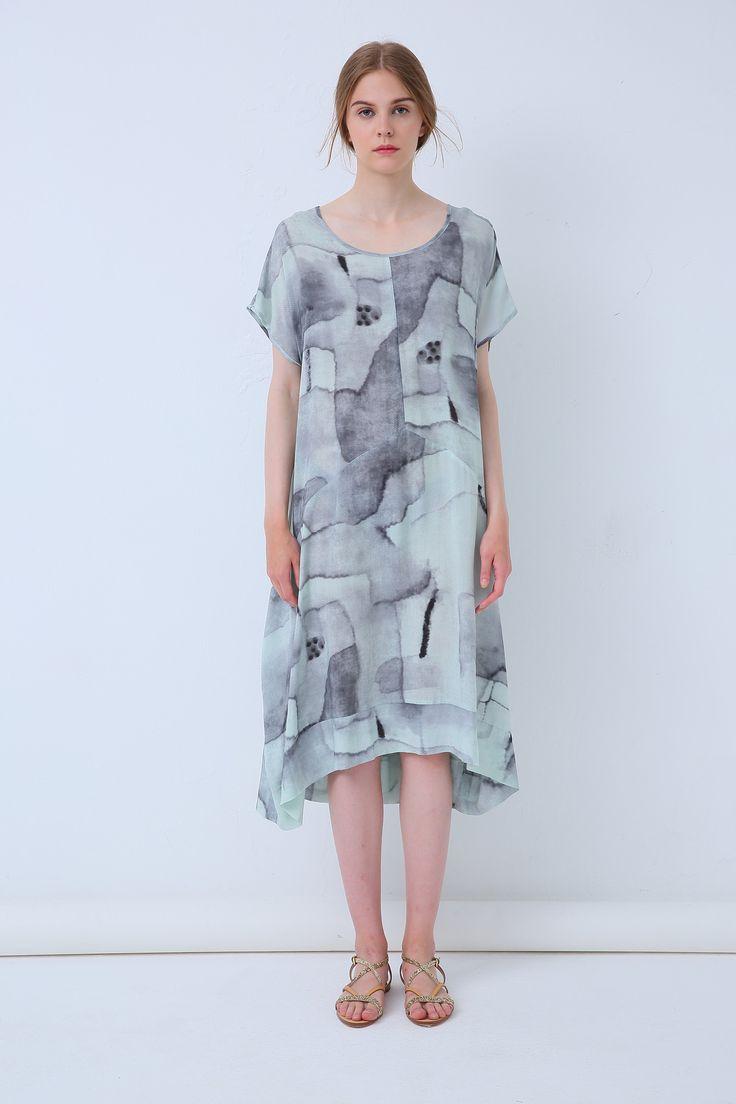 Tirelli - 18A80105 Longline Dress