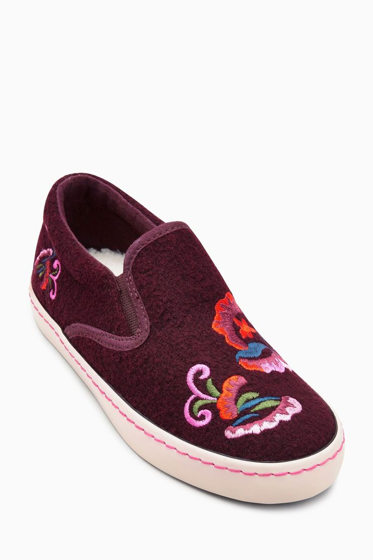 Buy Berry Embroidered Skate Shoes (Older Girls) from the Next UK online shop