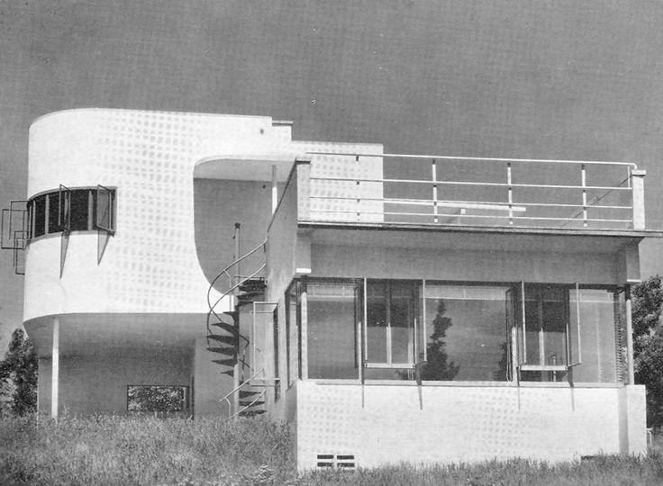New Hartford 1930 Field House William Lescaze Art Deco Architecture Architecture Exterior Modern Architecture Contemporary house style history