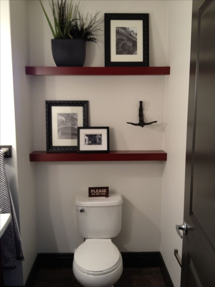 Model Bathroom Shelf Decor On Pinterest  Half Bath Decor Half Bathroom