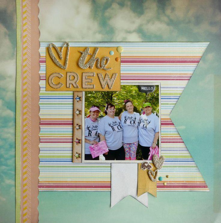 The Crew - Atlanta Breast Cancer 3Day 2016 - Scrapbook.com
