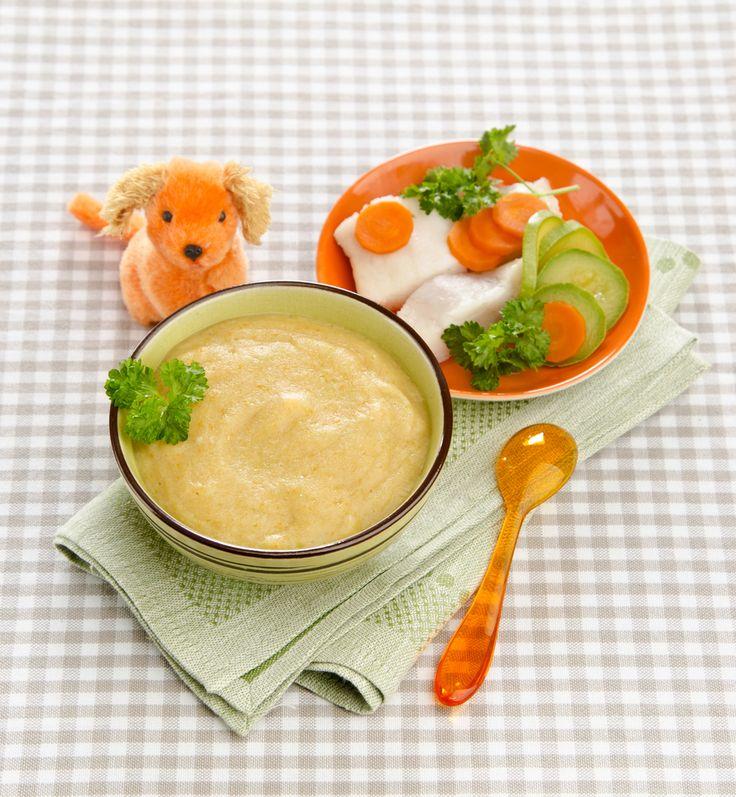 Deliciosa combinación de verduras con pollo para que tu bebé obtenga proteínas y vitamina B12 que los vegetales no aportan. El pollo les dará energía para que crezcas muy saludables.