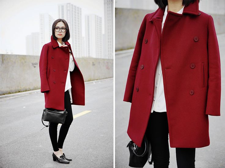 Red Coat Styling 101 For A Chic Outfit Result