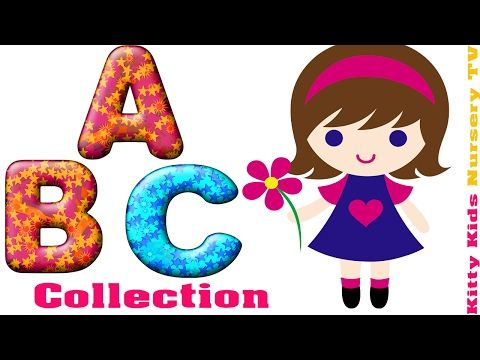 ABC Song | ABCD Alphabet Songs | ABC Songs for Children| Nursery Rhymes | Kitty Kids Nursery TV - YouTube
