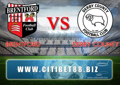 Prediksi Brentford vs Derby County 14 April 2017
