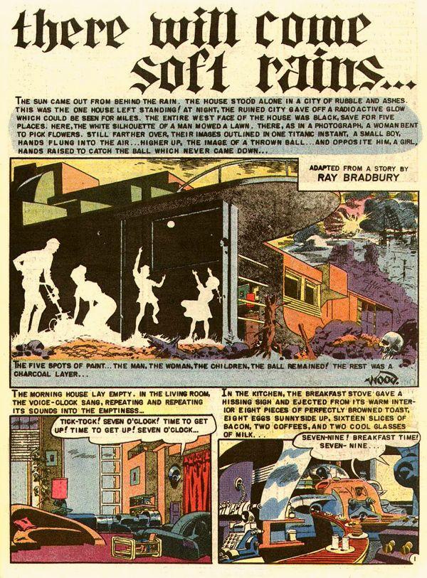 """there will come soft rains..."" - Ray Bradbury: 1950s comics' illustrated man - Imprint - Salon.com"