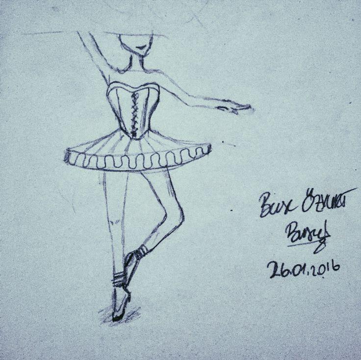 #balerin #draw #çizim #work #dans #dance #black #karakalem