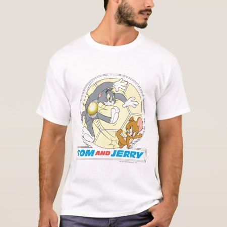 Tom and Jerry Soccer (Football) 8 T-Shirt - click to get yours right now!