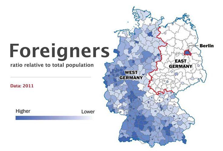 Inmigración - 10 hechos que demuestran que Alemania sigue dividida - Planificamos tu viaje