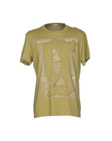 Prezzi e Sconti: #Galliano t-shirt uomo Verde militare  ad Euro 56.00 in #Galliano #Uomo topwear t shirts