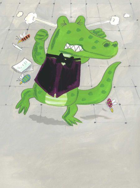 Kay Widdowson - Waitor Alligator Page 10