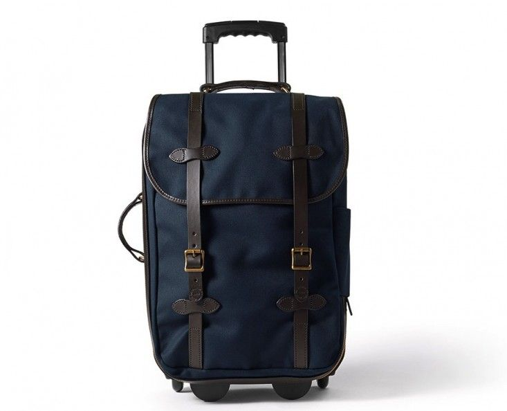 Filson Wheeled Carry On Suitcase/Remodelista