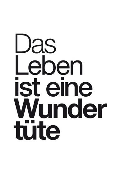 Typo-Print 'Wundertüte' by philuko via dawanda.com