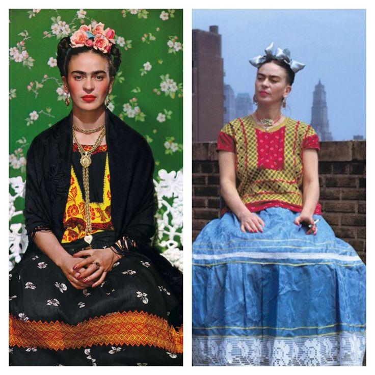 O estilo de frida kahlo para ela as roupas eram uma - Estilo frida kahlo ...