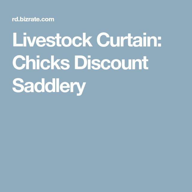 Livestock Curtain: Chicks Discount Saddlery
